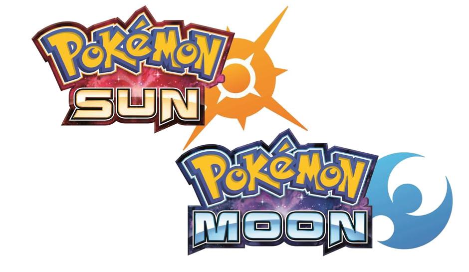Logos de Pokémon Sun & Moon
