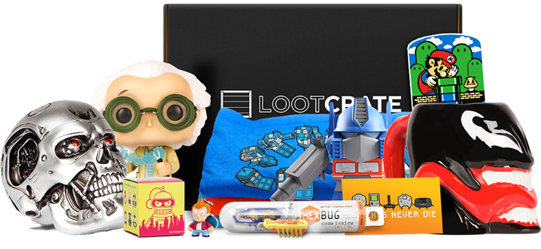 Loot Crate: Qué es y el Unboxing de Diciembre 2015