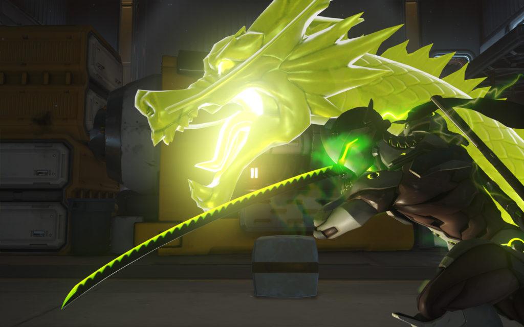 Genji en acción
